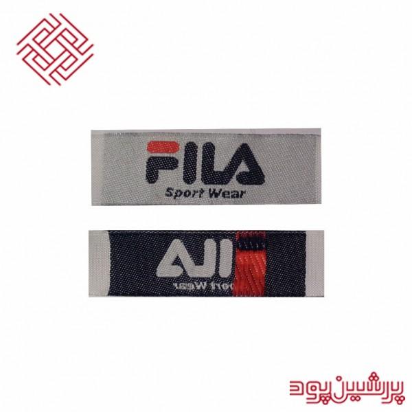 لیبل بافت مدل FILA