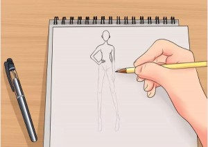 ۵ گام برای طراحی لباس
