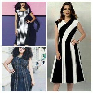 لباس زنان با اندام چاق