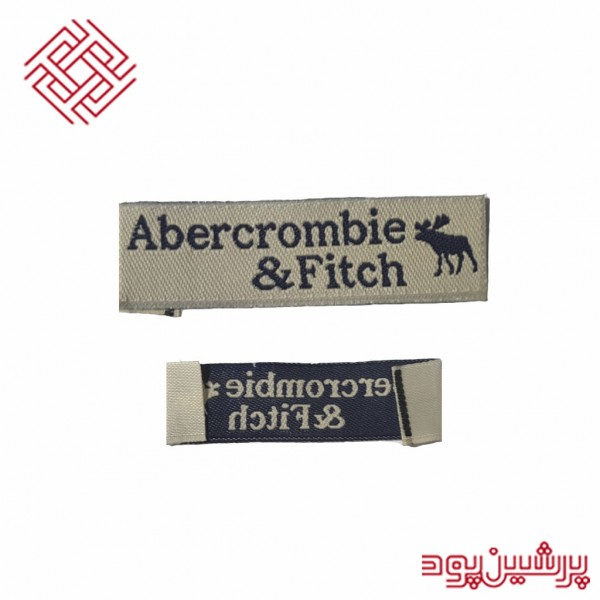 لیبل بافت مدل Abercrombie & Fitch