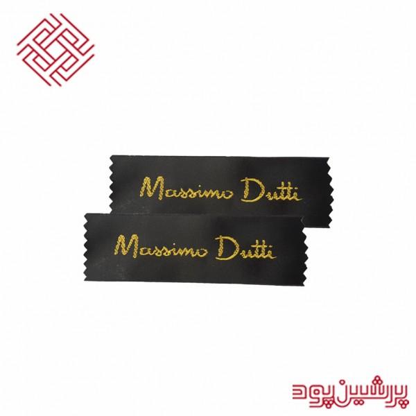 لیبل بافت مدل Massimo Dutti